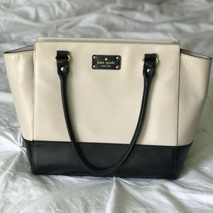 Kate Spade large tote two tone
